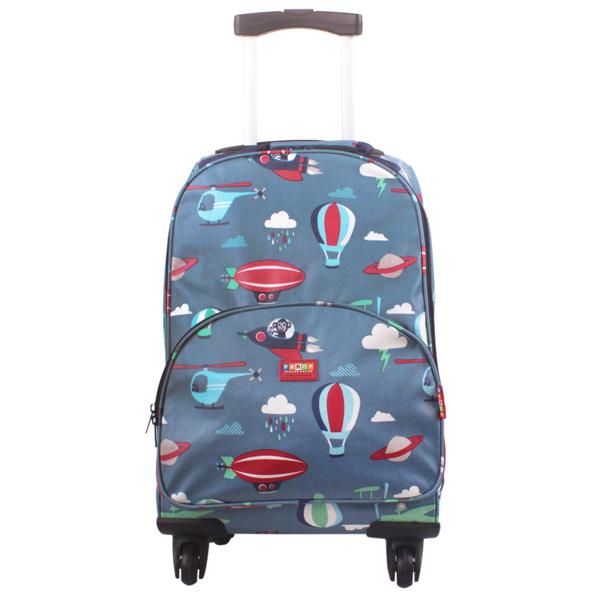 Penny Scallan Wheelie Case Space Monkey - Kids Bags