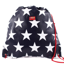 Penny Scallan Drawstring Bag Navy Star