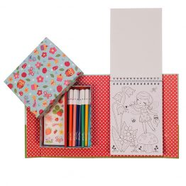 Tiger Tribe Piccolo Colouring Set Forest Fairies