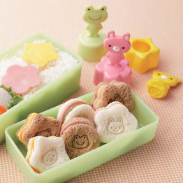 Sandwich Cutter and  Animal Stamp Set
