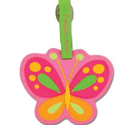 Stephen-Joseph-Bag-Tag-Butterfly-New