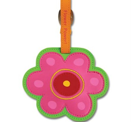 Stephen-Joseph-Bag-Tag-Flower-New