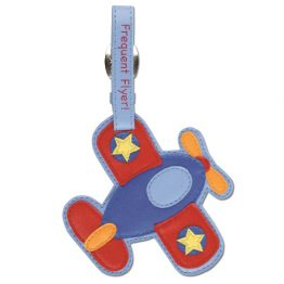Stephen Joseph Luggage Tag Airplane