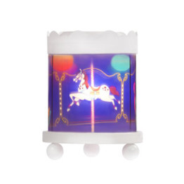 Delight Decor Carousel Night Light Horse