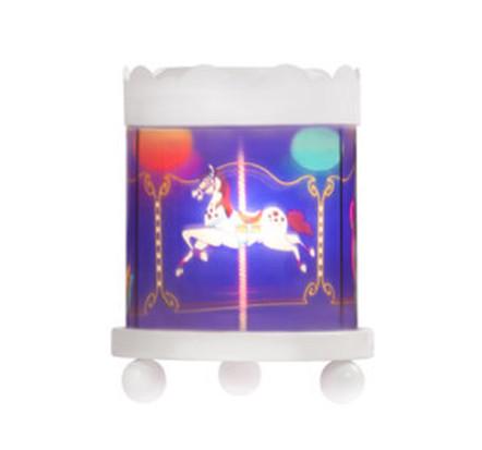 Delight Decor Carousel Night Light Horse