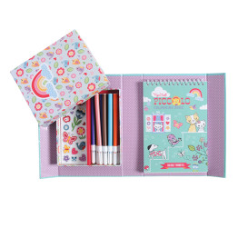 Tiger Tribe Piccolo Colouring Set Big Girls