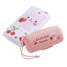 Bunny Towel & Container