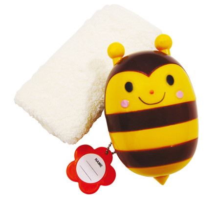 Honey Bee Container & Towel Set