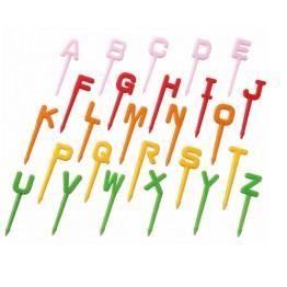 Alphabet Food Picks