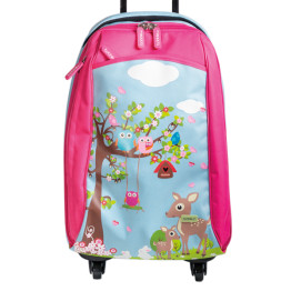bobble art cabin luggage woodland 2