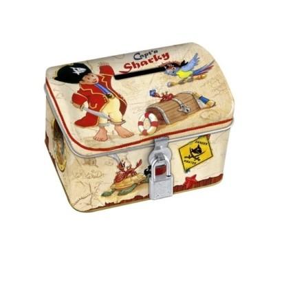 Captain Sharky Money Box