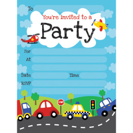 car-party-invitations