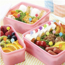 Bento Flower Picks
