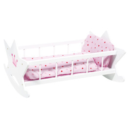 Dolls Cradle with Bedding
