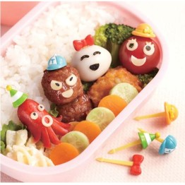 Bento Hat & Cap Food Picks