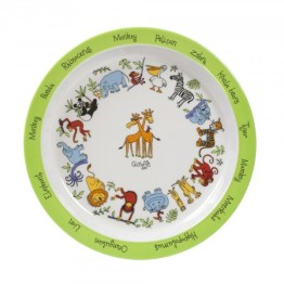 jungle-melamine-plate