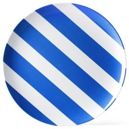 melamine-plate-blue-white-stripe-25cm