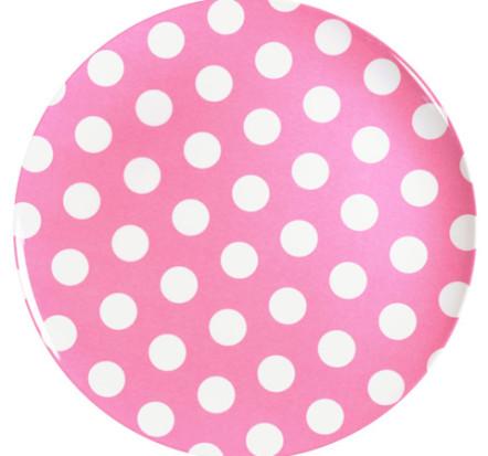 melamine-plate-pink-white-dot-25cm
