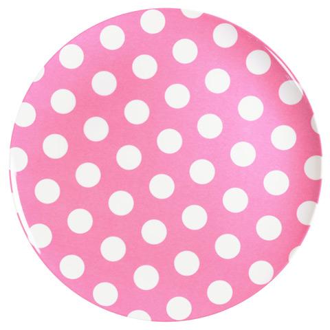 melamine-plate-pink-white-dot-25cm  sc 1 st  Kids Bags & JAB Designer Melamine Plate Pink and White Dots 25cm - Kids Bags
