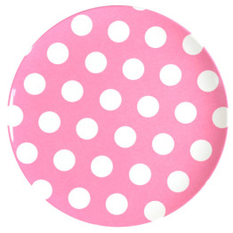 melamine-plate-pink-white-dots-20cm
