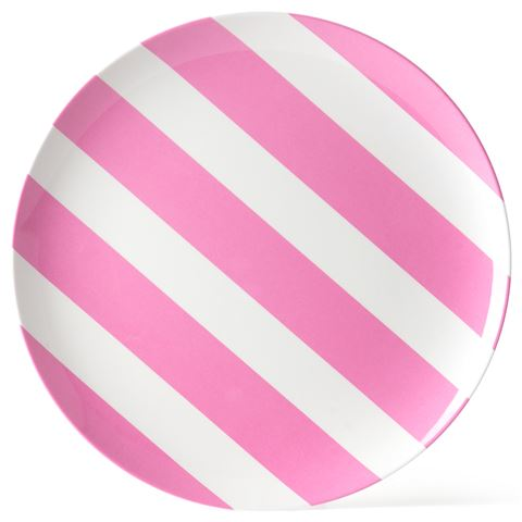 melamine-plate-pink-white-stripe-25cm  sc 1 st  Kids Bags & JAB Melamine Plate Pink and White Stripes 25cm - Kids Bags