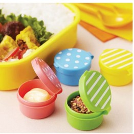 Spot & Stripe Dip & Sauce Containers