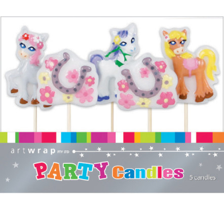 ponies-party-candles