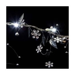 Silver Whisper String Lights