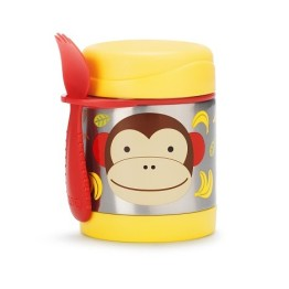 Skip Hop Food Jar Monkey
