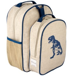 SoYoung Blue Dinosaur Toddler Backpack & Lunch Box Set