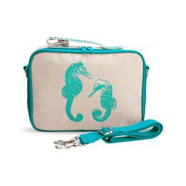 SoYoung Aqua Seahorse Lunch Box